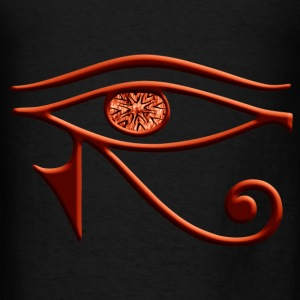 Fiery Eye Of Horus Tote Bag - Men's T-Shirt