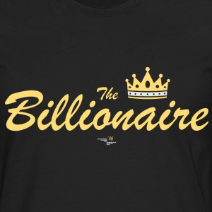 TheBillionaire back T-Shirts - Men's Premium Long Sleeve T-Shirt