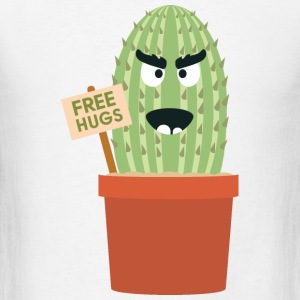 Angry cactus with free hugs Other - Men's T-Shirt