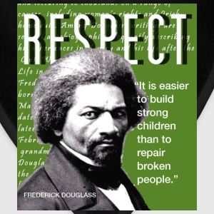 Frederick Douglass RESPECT Quote T-Shirts - Bandana