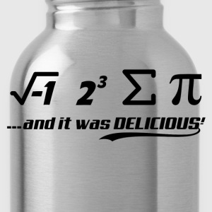 PI-IT WAS DELICIOUS Hoodies - Water Bottle