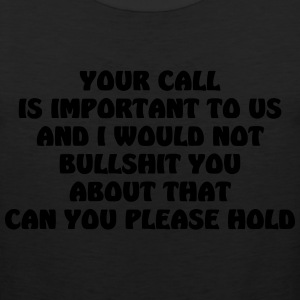 your call - Men's Premium Tank