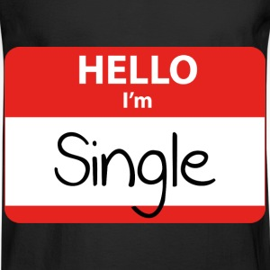 Hello, I'm Single - Men's Long Sleeve T-Shirt