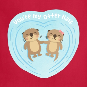You Are My Otter Half Bags & backpacks - Adjustable Apron