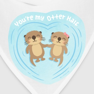 You Are My Otter Half Bags & backpacks - Bandana