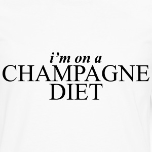 I'm on a champagne diet Women's T-Shirts - Men's Premium Long Sleeve T-Shirt