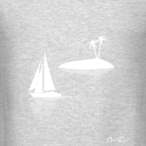 sailing-island-wht Tank Tops - Men's T-Shirt