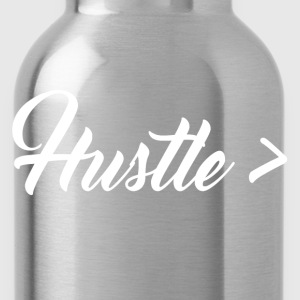 HUSTLE GREATER TEE - MEN - Water Bottle