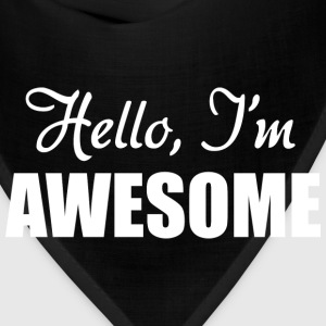 Hello, I'm Awesome - Bandana