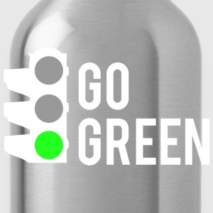 Go Green - Water Bottle