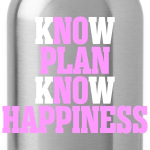 Know Plan Know Happiness - Water Bottle