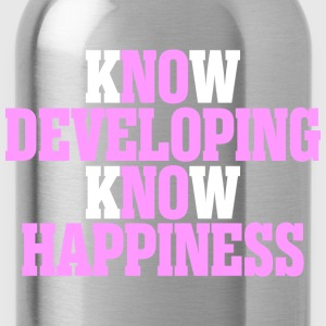Know Developing Know Happiness - Water Bottle