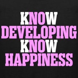 Know Developing Know Happiness - Men's Premium Tank