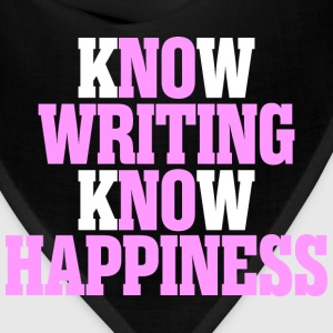 Know Writing Know Happiness - Bandana