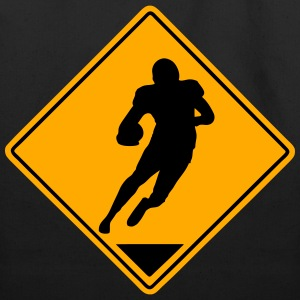 Football Road Sign T-Shirts - Eco-Friendly Cotton Tote