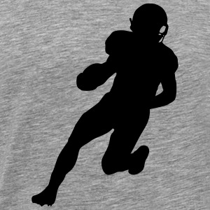 Football player Hoodies - Men's Premium T-Shirt