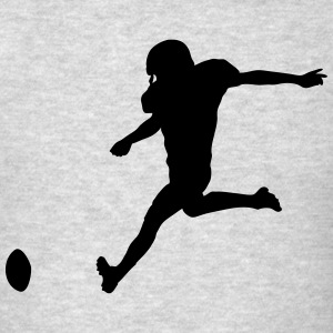Football player Hoodies - Men's T-Shirt