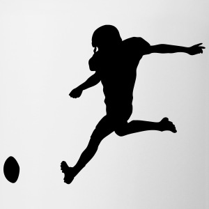 Football player T-Shirts - Coffee/Tea Mug