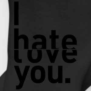 I hate love you couple relationship Bags & backpacks - Leggings