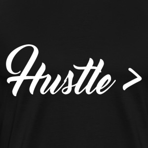 Hustle > Talent - Men's Premium T-Shirt