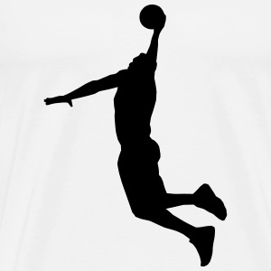 Basketball Player Long Sleeve Shirts - Men's Premium T-Shirt