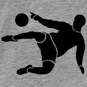 Soccer Player Hoodies - Men's Premium T-Shirt