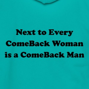 Next to Every ComeBack Woman - Unisex Fleece Zip Hoodie by American Apparel
