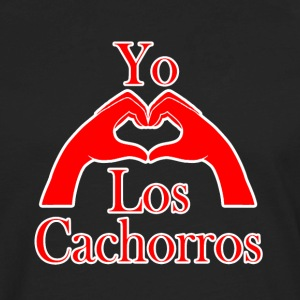 Yo Amo Los Cachorros T-Shirts - Men's Premium Long Sleeve T-Shirt