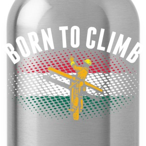 Born To Climb Hungarian Lineman - Water Bottle