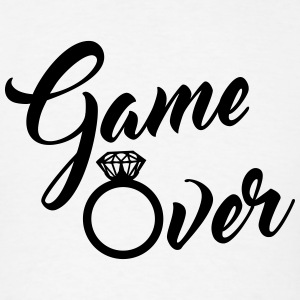 game over Tanks - Men's T-Shirt