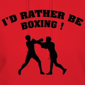 I'd Rather Be Boxing - Women's Hoodie