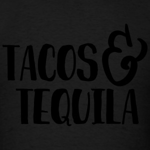 Tacos & Tequila Humor Tanks - Men's T-Shirt