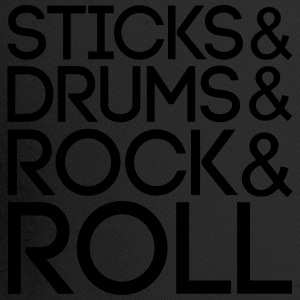 Sticks Drums Rock + Roll T-Shirts - Trucker Cap