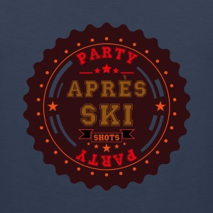 Apres Ski Party Logo T-Shirts - Men's Premium Tank