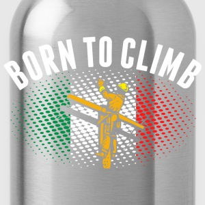Born To Climb Indian Lineman - Water Bottle