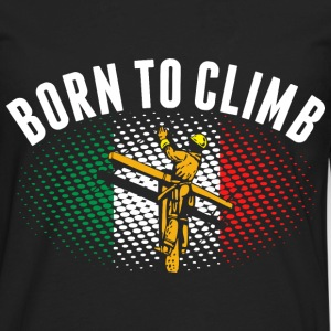 Born To Climb Indian Lineman - Men's Premium Long Sleeve T-Shirt