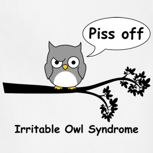 Irritable owl syndrome 1 T-Shirts - Adjustable Apron