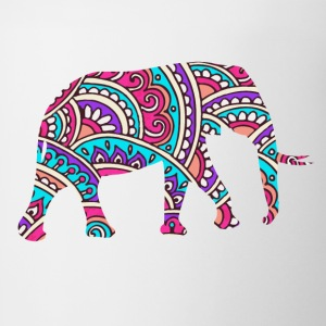 Colorful elephant Tanks - Coffee/Tea Mug