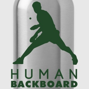 table tennis: human blackboard Tank Tops - Water Bottle