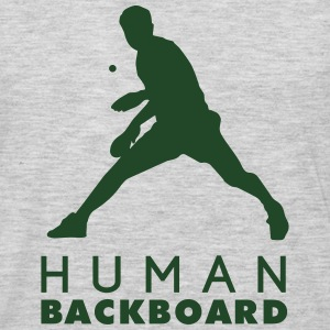 table tennis: human blackboard Tank Tops - Men's Premium Long Sleeve T-Shirt