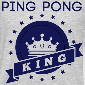 ping pong king T-Shirts - Men's Premium Long Sleeve T-Shirt