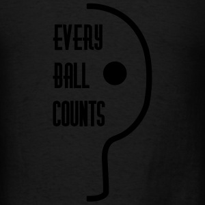 table tennis: every ball counts Tanks - Men's T-Shirt