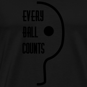table tennis: every ball counts Tank Tops - Men's Premium T-Shirt