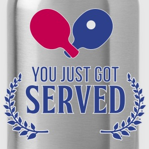 ping pong: you just got served Tanks - Water Bottle