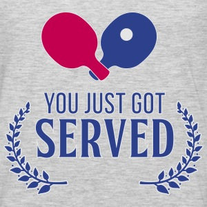 ping pong: you just got served Tanks - Men's Premium Long Sleeve T-Shirt
