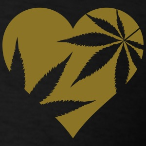 cannabis love Polo Shirts - Men's T-Shirt