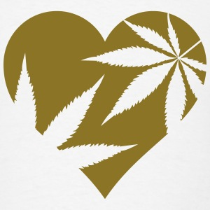 cannabis love Tanks - Men's T-Shirt