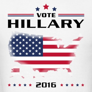 Vote for Hillary Long Sleeve Shirts - Men's T-Shirt