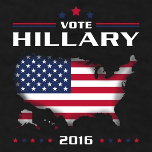 Vote for Hillary white Mugs & Drinkware - Men's T-Shirt