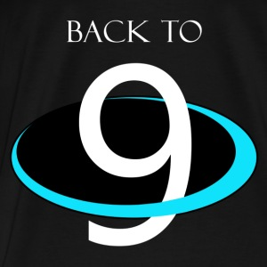 BACK to 9 PLANETS Hoodies - Men's Premium T-Shirt